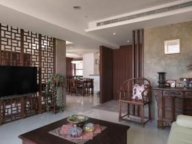 中式两居装修案例欣赏