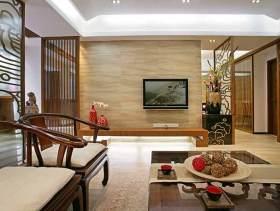 中式二居室装潢案例
