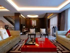 中式现代感别墅装修设计图