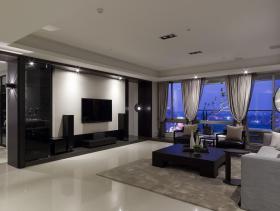 现代两居装修效果图
