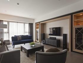 2015中式三居装修效果图