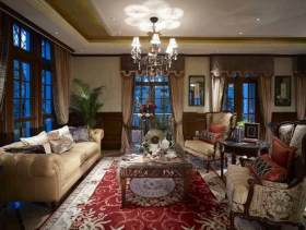 2015美式别墅装潢设计案例
