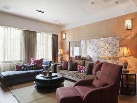 2015年现代禅居两室装修设计图