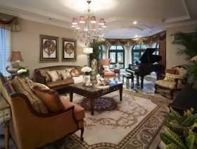 古朴美式别墅装修设计