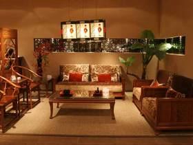中式三居装修效果图片