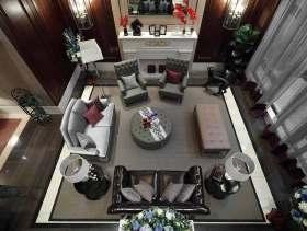 美式别墅现代质感装潢设计