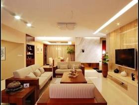 中式二居室装修设计效果图