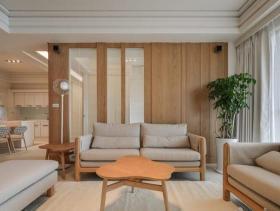 日系简约三居公寓装修设计