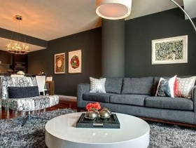 2015现代风格二居室装修效果图