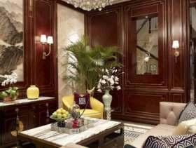 新中式风格别墅装修案例图集