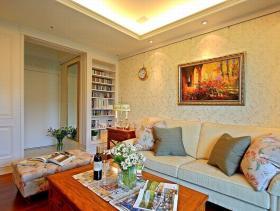 浪漫美式三居装修案例欣赏