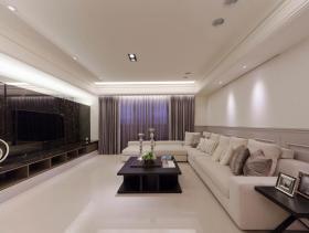 浪漫新古典四居装修案例设计