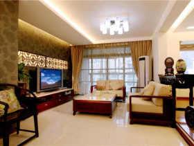 中式三室装修效果图