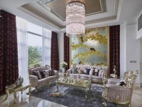 精铸欧式别墅装潢设计案例