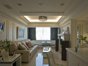浪漫雅致新古典两居装修案例