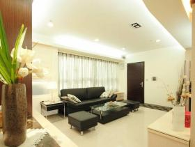 现代温馨两居装修设计