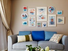 纯净北欧简约二居室设计