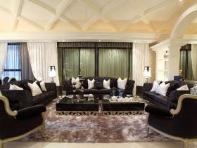 艺术奢华新古典主义三居家装案例