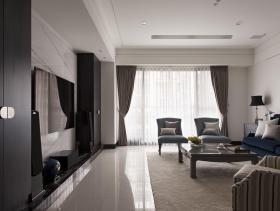 美式典雅三居装潢设计
