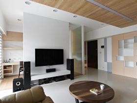 现代三居装修效果展示