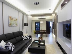 现代两居装修案例欣赏