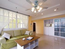 宽敞美风简约二居室装修案例