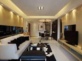 现代风格两居装修案例