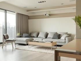 简约素雅二居室装修实例欣赏