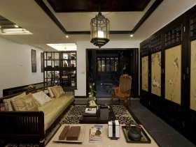 中式古典三居装修设计