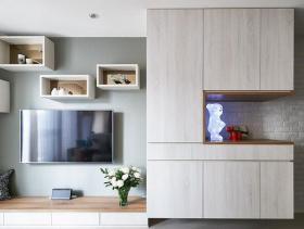 休闲北欧简约风二居室装修设计图集