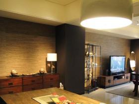 2016时尚新中式风格二居装修设计案例