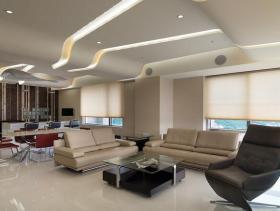 现代设计四居装修效果展示
