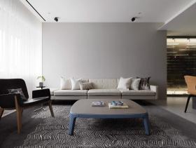现代都市优雅两居装修设计图