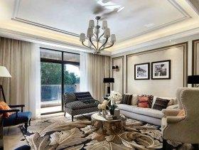 欧式朴实优雅三居室设计图例