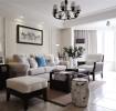 休闲舒适美式三室一厅装修案例