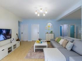 温馨简约风格三室两厅装修案例欣赏