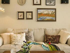 美式浪漫两居装修案例欣赏
