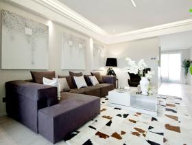 雅致现代两居装修设计欣赏