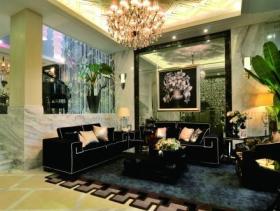 时尚奢华新古典风格三居室装潢设计