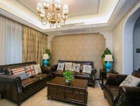 古典设计欧式四居室装修布局案例
