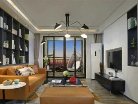 116方两居时尚舒适现代美丽之家欣赏