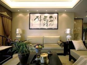 中式古典唯美三居室装修案例欣赏