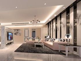 2016简约新古典四居室装潢效果