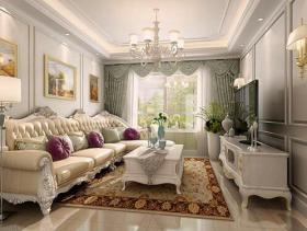 精致欧式二居室装修设计案例
