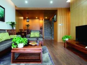 雅美中式三居室设计效果大全