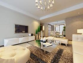 内敛低奢简欧四居室装修布置案例欣赏