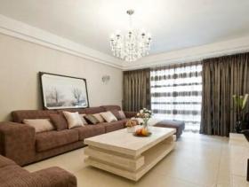 温馨朴素新古典二居室设计图集