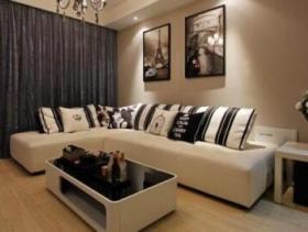新古典风格混搭休闲二居室装修图片大全