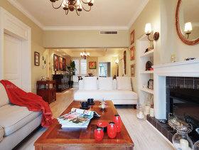 美式浪漫舒适120平三居设计图