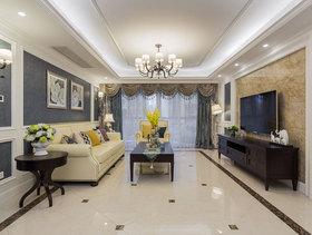 时尚裸灰新古典风格四居室装修案例分析